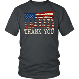 American Flag TShirts Thank you Veterans Quotes Hoodie