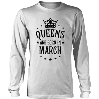15 Queens are born in March T-Shirt