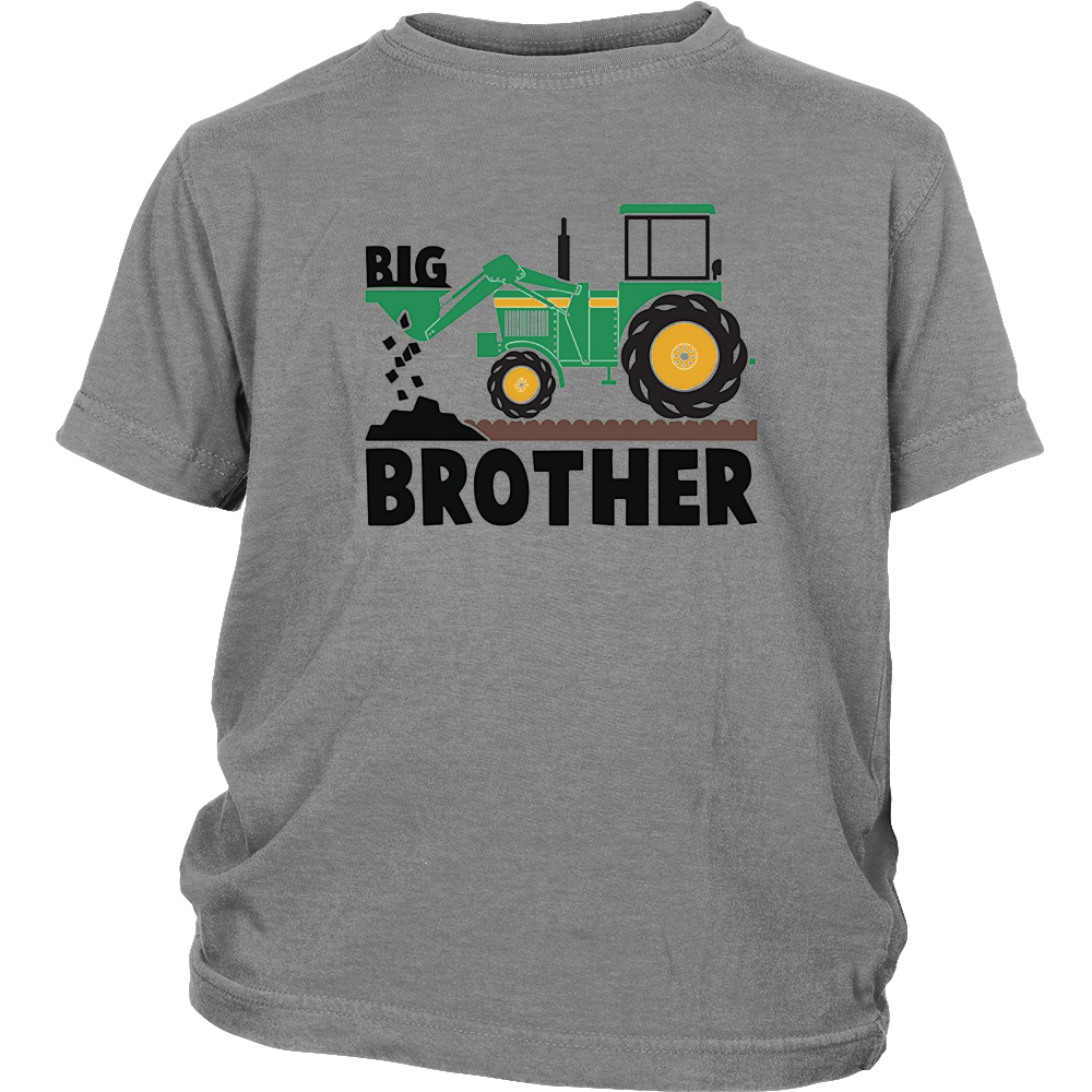 Tractor Toy Farm Shirt - Big Brother Youth Shirts Gift