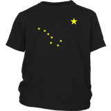 Alaska T-Shirt State Flag Astrology Big Dipper Polaris Tee Quotes Hoodie