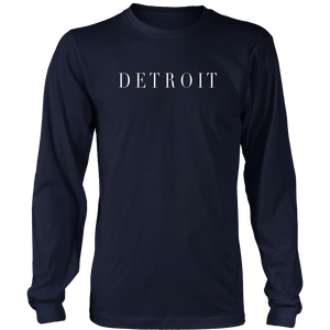 Detroit Michigan Gift Tee Shirt Apparel for Men, Women &Kids