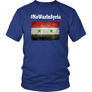 No War In Syria shirt - Save Syria Shirt