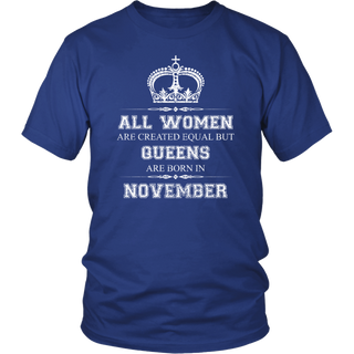 all woman are created equal but queens are born in november v4
