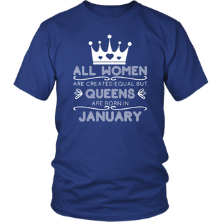 Queens Are Born In November Birthday T-Shirt V2