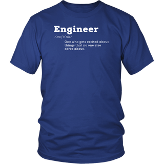 Funny Engineer Definition I'm An Engineer T-shirt