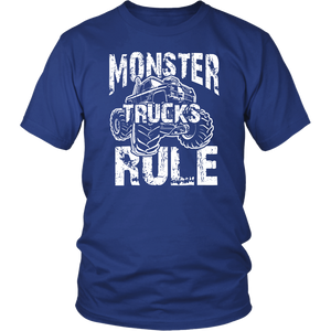 MONSTER TRUCKS RULE T-shirt