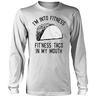 Crazy Dog T-Shirts Mens Fitness Taco Funny Gym T Shirt Humorous Mexican Food Tee For Guys