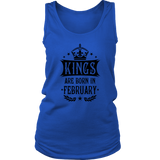 14 Kings are born in February King Birthday Gift T Shirt Quotes Hoodie