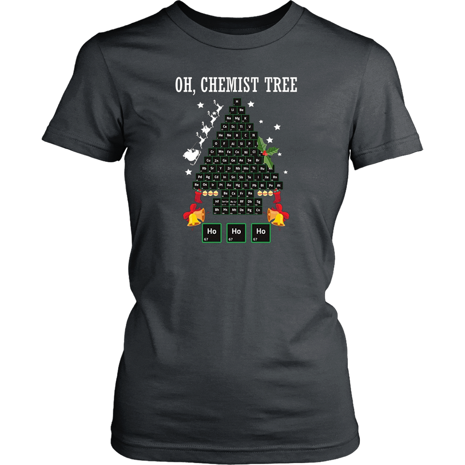 Oh Chemistry Chemist Tree Funny Chemistry Periodic Table Pun Teefig