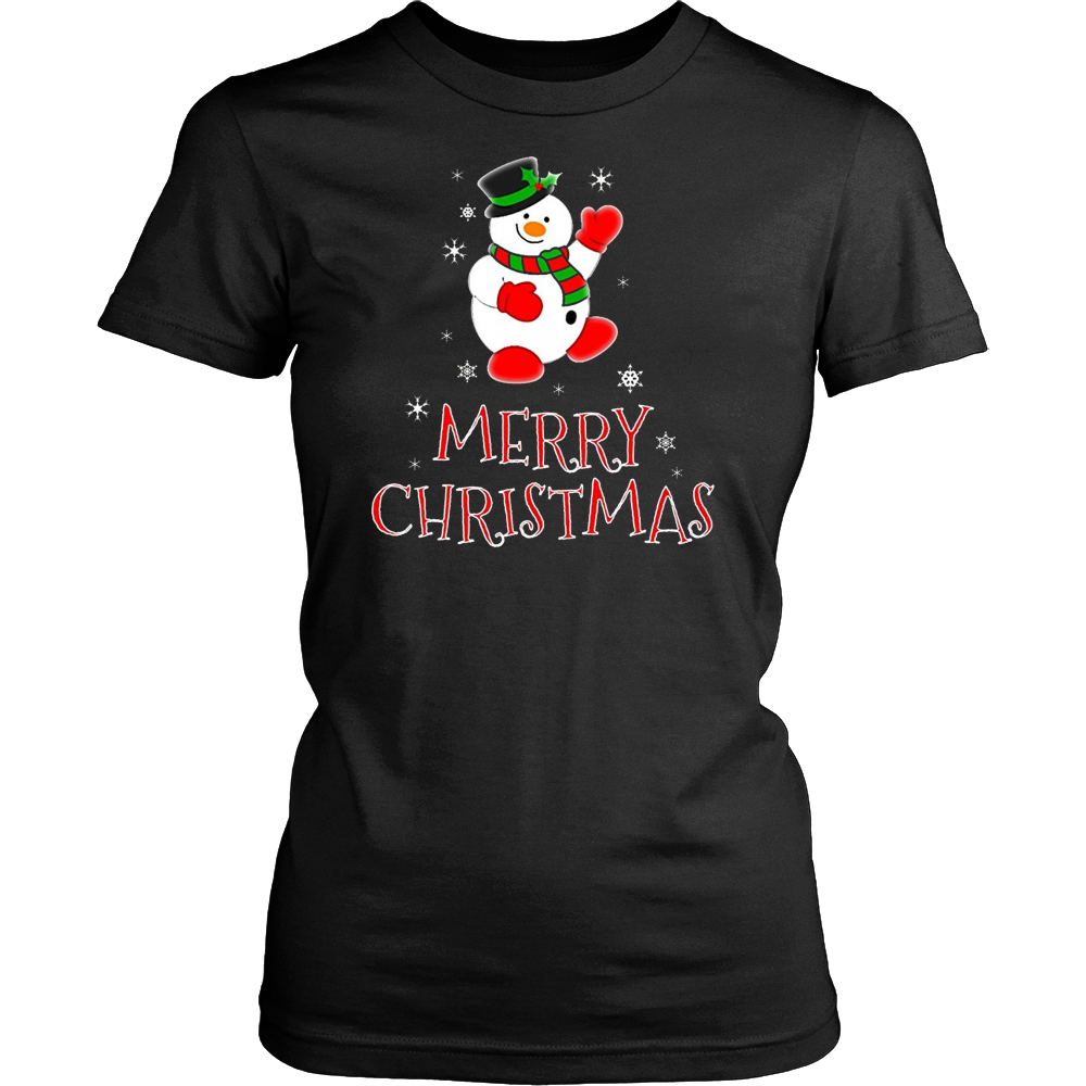 Holiday Snowman Merry Christmas T-Shirt