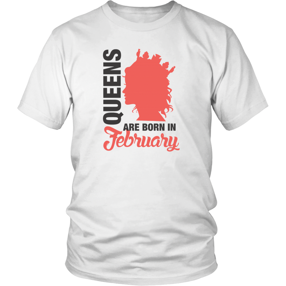 Born In February Funny Shirt