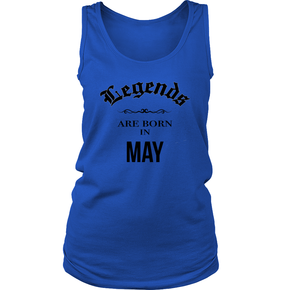 Birthday Legends are born in May Men's Women's T Shirt