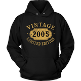2005 12 years old 12th B-day Limited Birthday Gift T-Shirt Quotes Hoodie