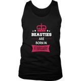 Beauties are born in February Gift T Shirt Quotes Hoodie