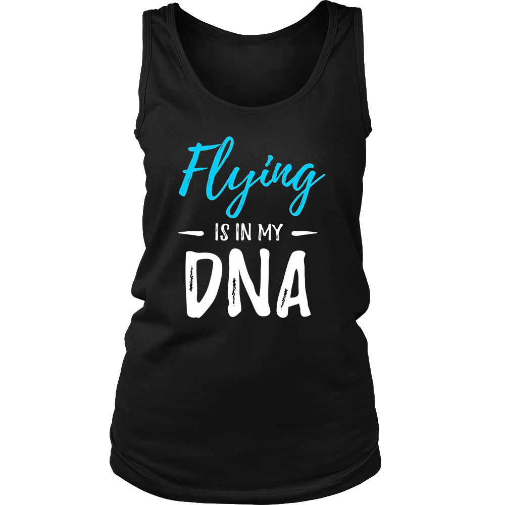 Flying Is In My DNA T-Shirt Funny Pilot Gift Idea