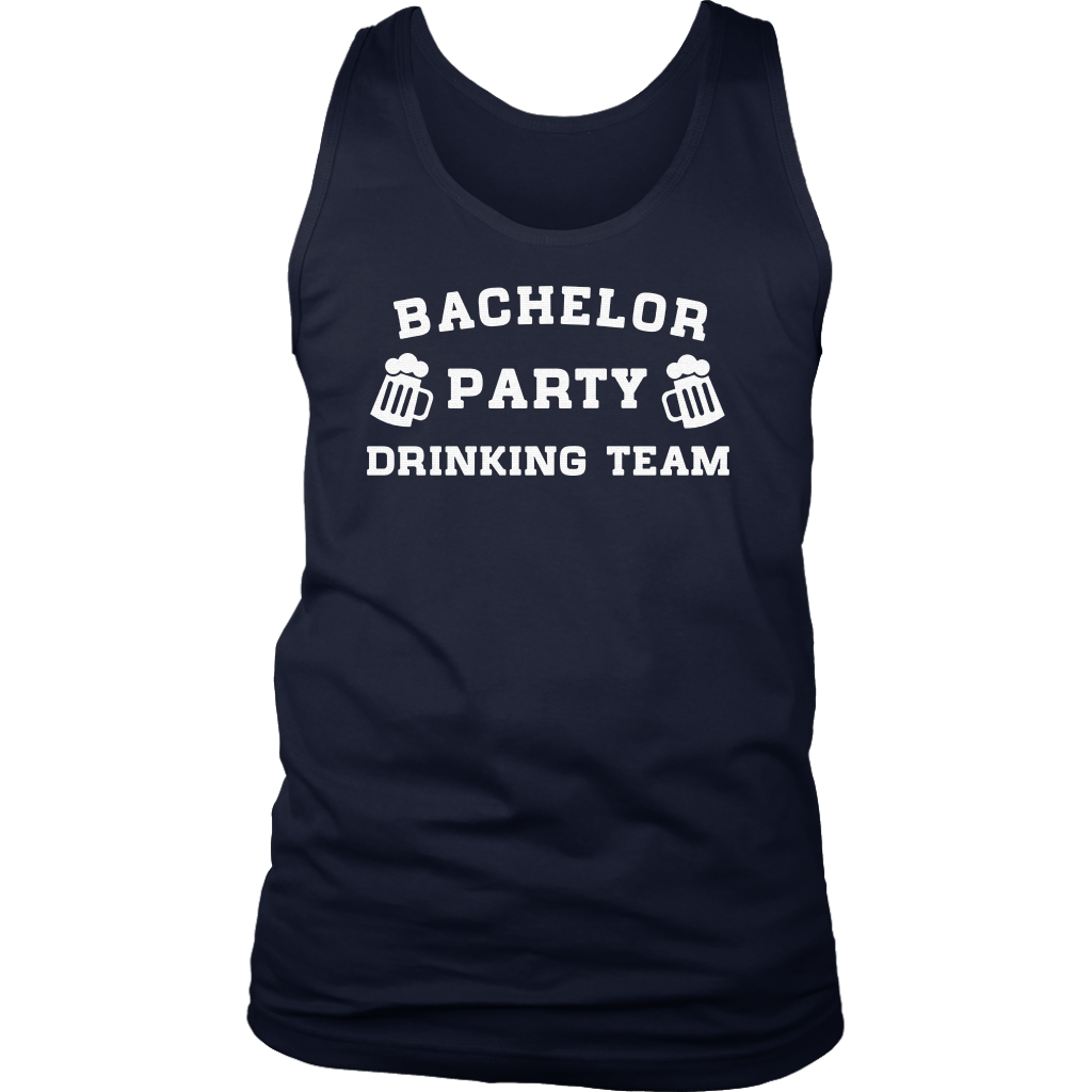 Bachelor Party Drinking Team, funny best men t-shirts