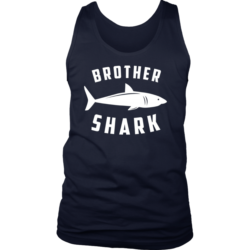 Brother Shark - Funny Family T-Shirts