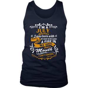 I'm a July woman T-shirt