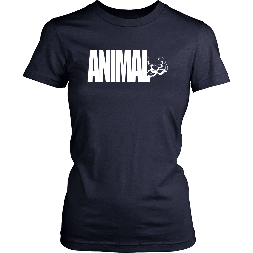C544 ANIMAL Gym T Shirt Workout MMA Fitness Motivation Tee