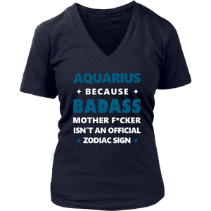 Aquarius Because Mother T-Shirt