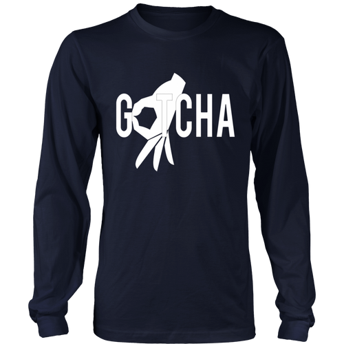 Gotcha Finger Circle Game Tee Shirt Hole Tempting Meme Gift
