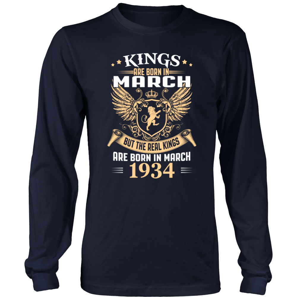 King Are Born In March 1934 T-Shirt
