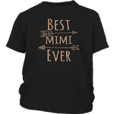 Best Mimi Ever T-Shirt for Grandmothers (Rose Gold) Quotes Hoodie