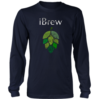 iBrew T Shirt for Home Brewers and Beer Lovers