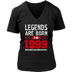 18th Birthday Gifts Boy Girls Legends Are Born in 1999 Shirt