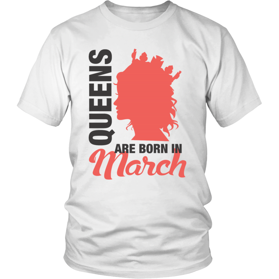 Birthday Girl Born in March Gifts T-Shirt