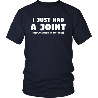Knee Replacement Gift: Funny Joint Replacement T-Shirt