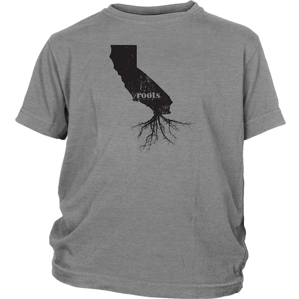 California Roots State Map Shirt Home Love Pride Gift Tee