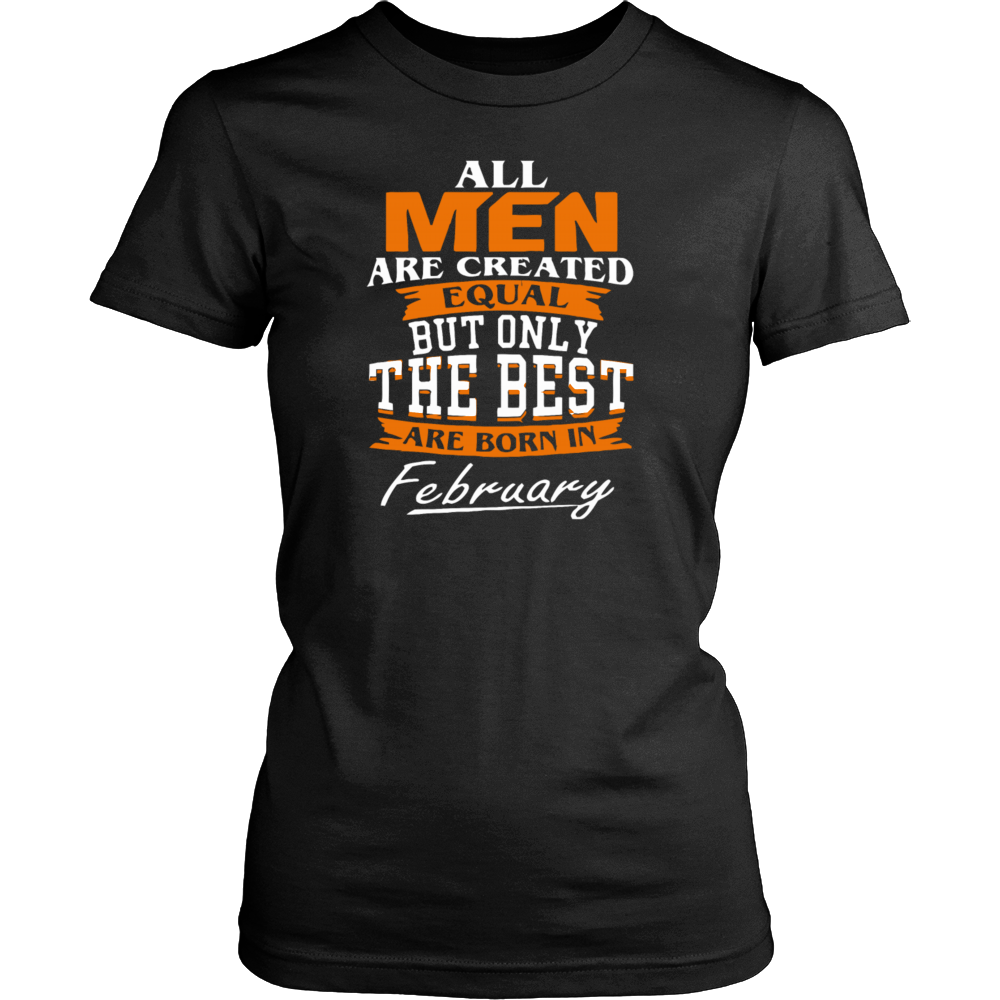 All men the best are born in February Hoodie Tank-Top