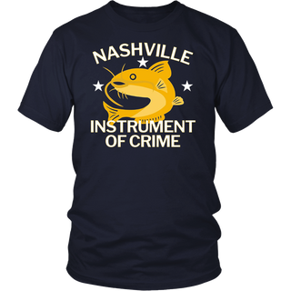 Nashville Instrument of Crime Catfish Hockey T-Shirt