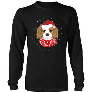 Cavalier Dog Christmas Ugly Sweater T-Shirt