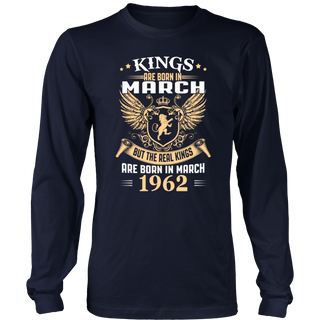 Kings Are Born in March 1962 T-Shirt