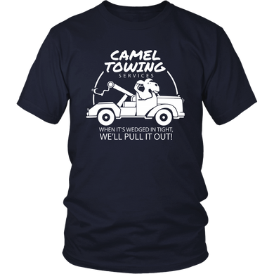 Camel Towing Services T-Shirt Funny Adult Humor