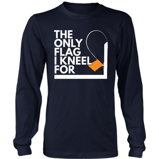 The Only Flag I Kneel For Ice Fishing Tip Up Hobby T-Shirt