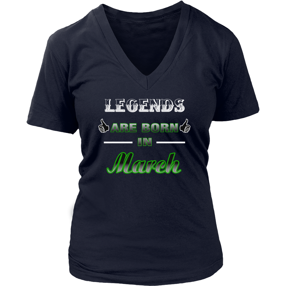 Legens are born in March - Birthday Gift