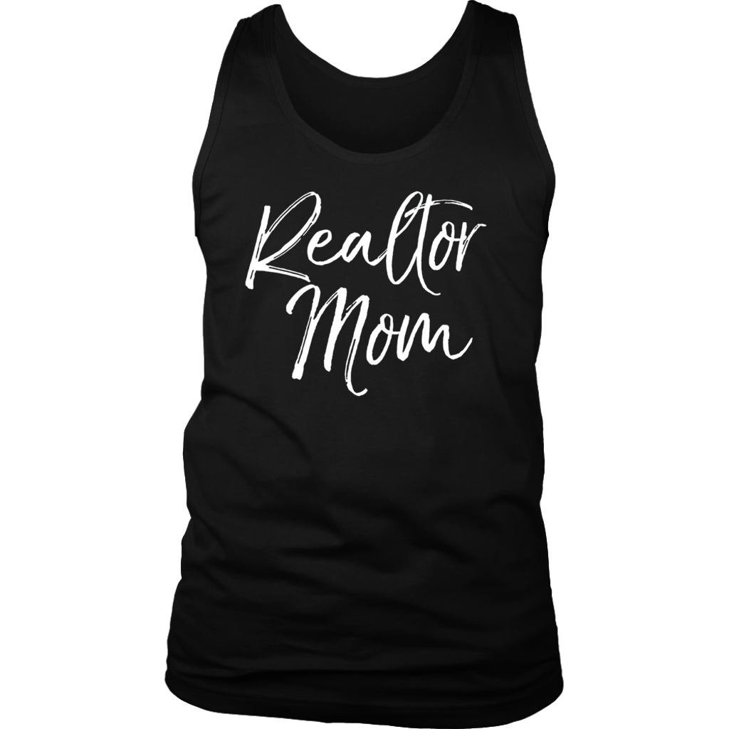 Realtor Mom T-Shirt Fun Cute Mother Gift House Selling