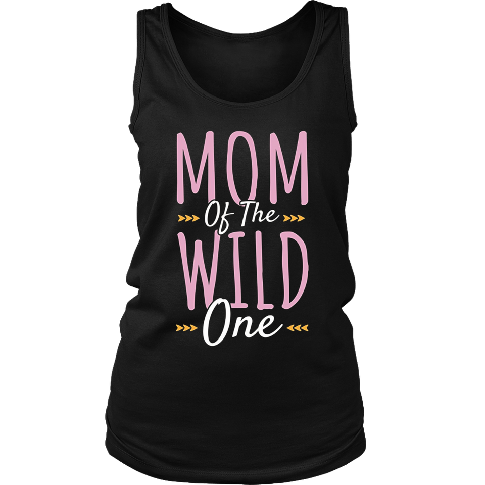 Mom Of The Wild One T-Shirt For Wife Mommy Mother