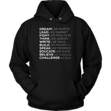 BLACK POWER BLACK HISTORY - PANTHERS EXCELLENCE LIVES MATTER Quotes Hoodie