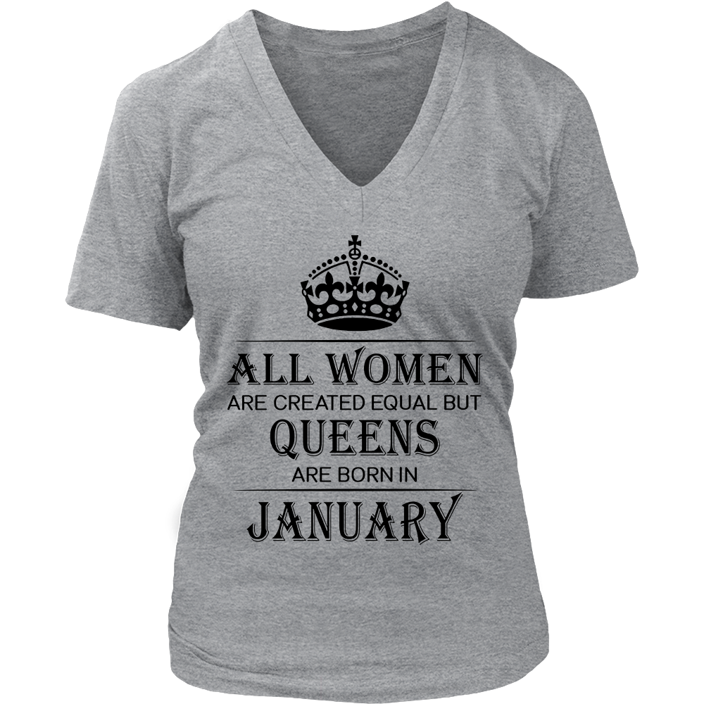 All Women Are Created Equal But Queens Are Born In January