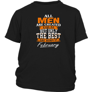 All men the best are born in February Funny Shirt