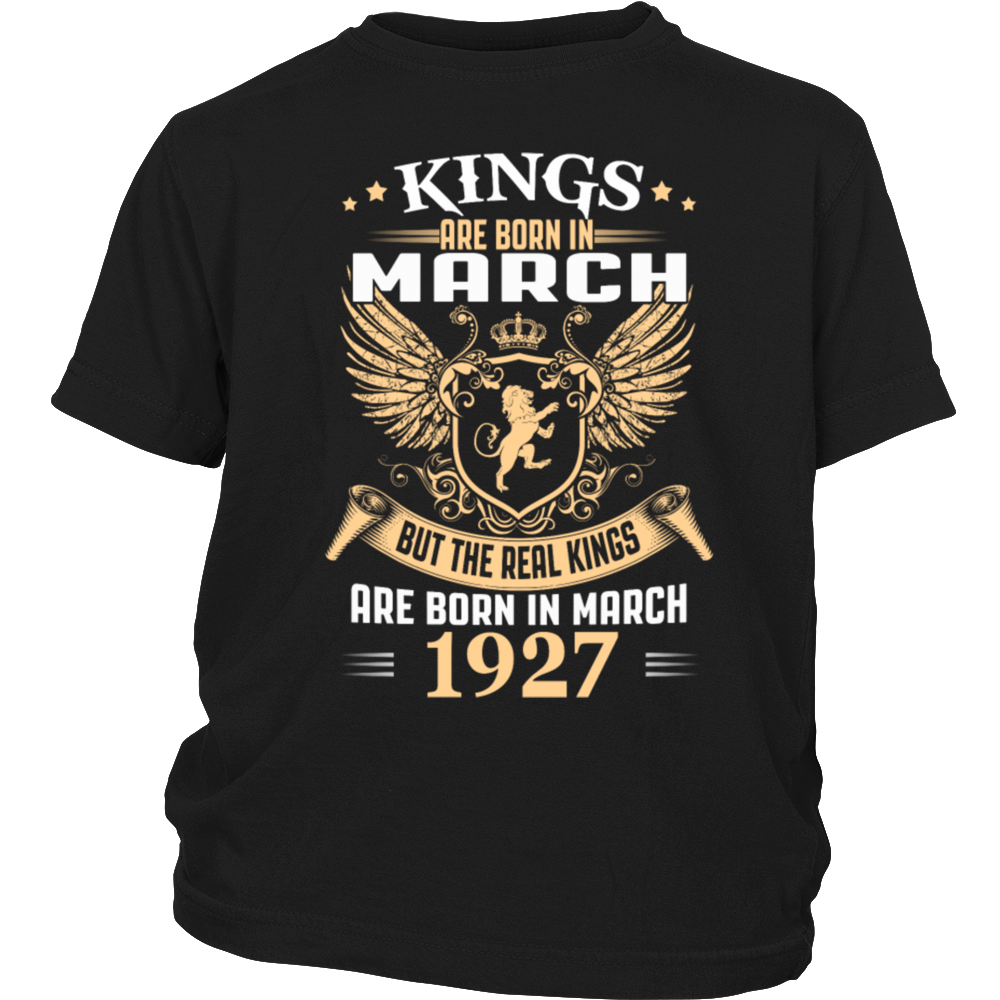 King Are Born In March - Birthday Gift T-Shirt