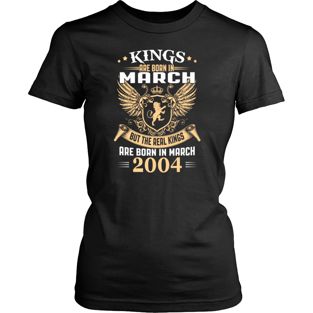 Kings Are Born In March 2004 - Birthday Gift