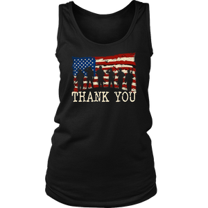 American Flag TShirts Thank you Veterans