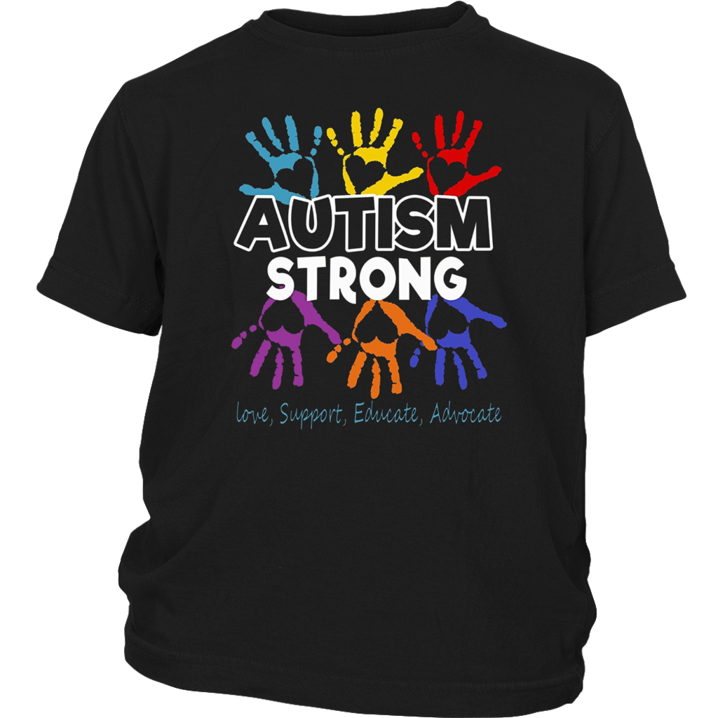 Autism Awareness T shirt For Mom / Dad/ Kid - Autism Strong