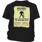 Aquarius Zodiac Cool Gift- Aquarian Description T-Shirt - Bornmay Quotes Hoodie