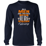All men the best are born in February Funny Shirt Quotes Hoodie